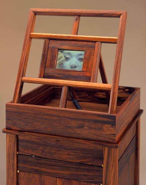 Furniture by Wendy Maruyama Studios seen at Private Residence - Vanity