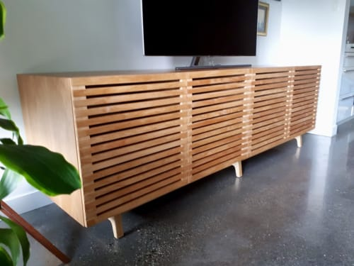 Furniture by Zillion Design seen at Private Residence - Vancouver, BC, Vancouver - Alder Credenza