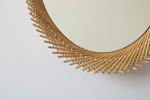 Furniture by INDO- seen at Creator's Studio, Providence - Mooda Mirror Oval 28