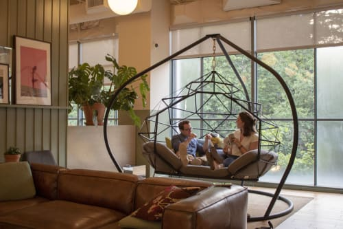 Furniture by KODAMA seen at WeWork, Portland - KODAMA Zome Lounger