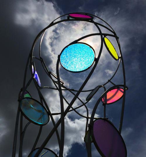 Public Sculptures by Nicole Beck Public Art seen at Batavia Area, Batavia - Spintronic