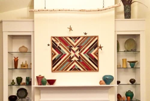 Wall Hangings by Sweet Home Wiscago seen at Private Residence, Chicago - Wood Art