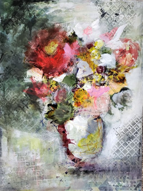 Paintings by Marie Manon Art seen at Private Residence, Richmond - Through your Eyes