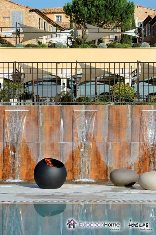 Fireplaces by European Home seen at Private Residence, Middleton - Bubble Fire Pit