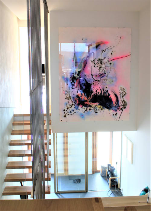 Paintings by Tommy Balogh Art seen at Ovolo Nishi, Canberra - Symphony