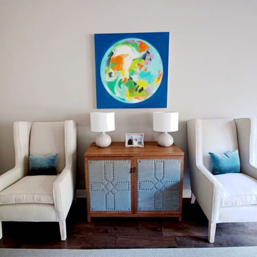 Paintings by Hillary Butler (Fine Art) seen at Private Residence, Memphis - Celestial