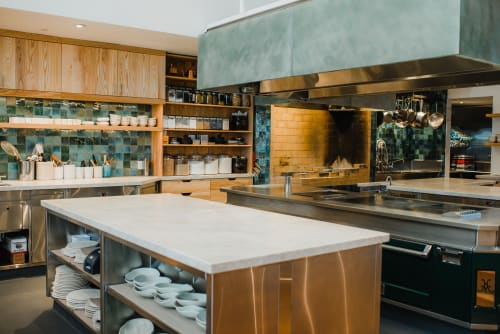 Appliances by Hestan at Birdsong, San Francisco - Custom Hestan Range