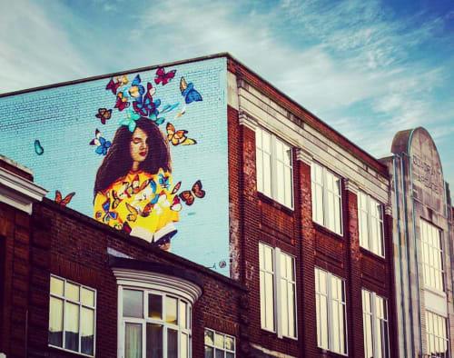Street Murals by Anika Manuel seen at Romford, Romford - Mural