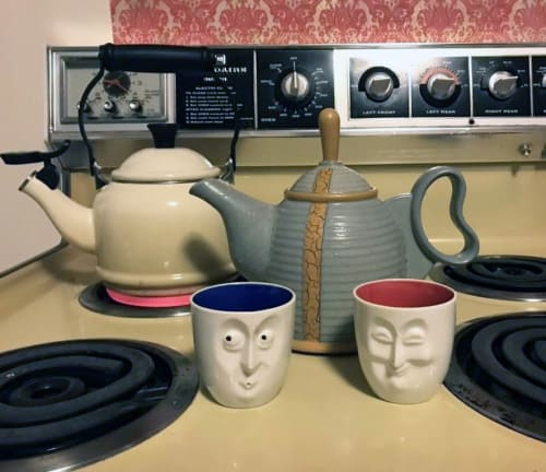 Tableware by VEpottery seen at Private Residence, Bozeman - Tea Pot