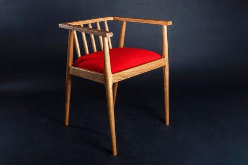 Chairs by Glencairn Furniture seen at Creator's Studio, Edinburgh - Winzer Low Back Chair
