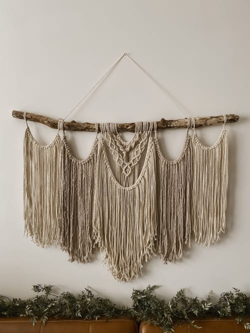 Macrame Wall Hanging by Native and Found seen at Creator's Studio, Richmond - Juniper