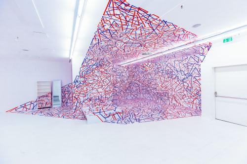 Interior Design by Tape That seen at Berlin, Berlin - Artcaden