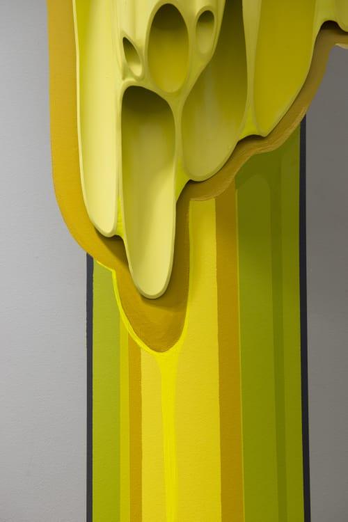Sculptures by Suzanne Wyss seen at Facebook, Austin - Dank Honey