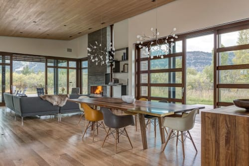 Interior Design by CLB Architects seen at Private Residence, Jackson - Shoshone