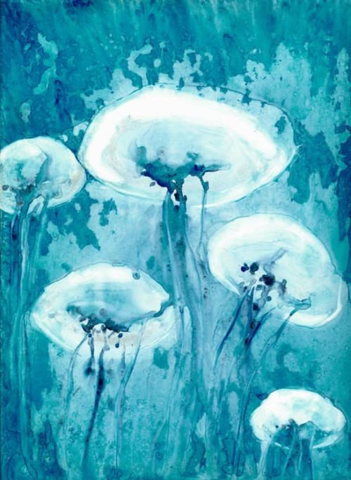 Luminous   Paintings by Brazen Edwards Artist