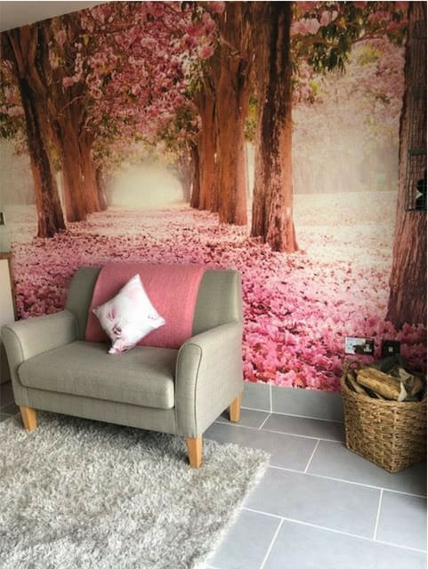 Murals by Fancify Wall Murals & Wallpaper seen at Private Residence, Melbourne - Yonder Ready Madde Wall Mural