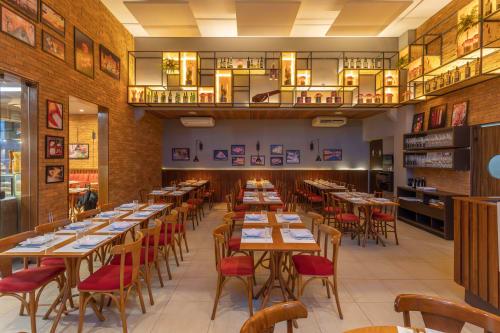Trattoria de Origem, Restaurants, Interior Design