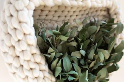Harvest | Wall Hangings by Keyaiira | leather + fiber