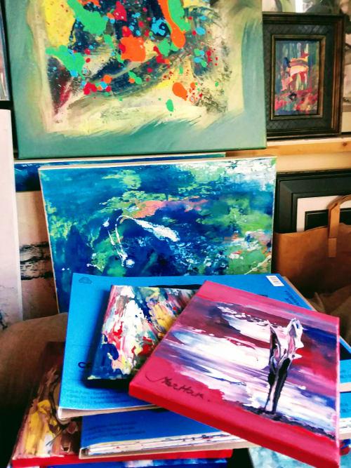Paintings by Martiros MarHak Hakopian seen at MarHak Fine Art, Los Angeles - MarHak Studio