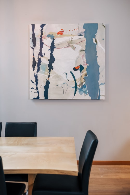 Paintings by Marlene Lowden seen at Private Residence - Just a little water