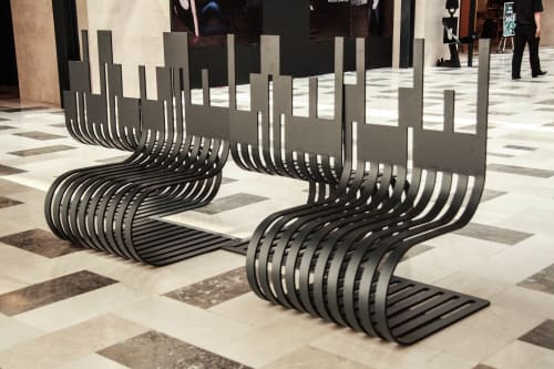 Benches & Ottomans by Poh Sin Studio seen at Private Residence, Petaling Jaya - Publika Bench Design