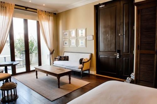 Interior Design by VERDI seen at Bastión Luxury Hotel, Cartagena - Fique Fiber Rug - Medium Rhombus Weave