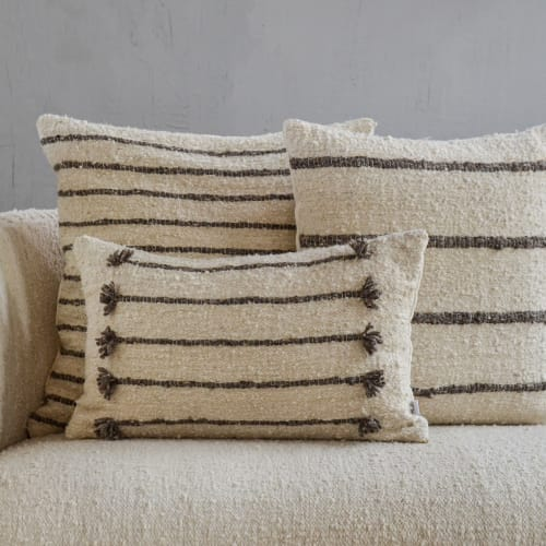 Pillows by Meso Goods seen at Creator's Studio, Guatemala City - Zapote Pillow Cover