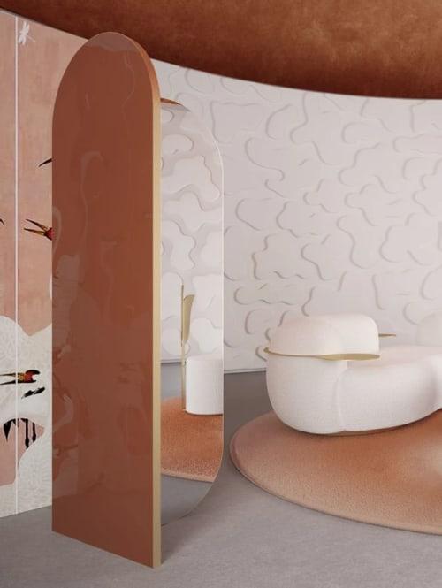 Furniture by SECOLO seen at Creator's Studio, Milan - Takada Mirror