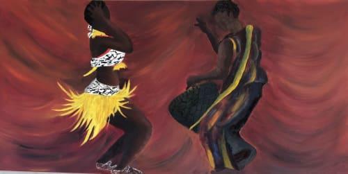 Oil Painting   Paintings by Marvel Ebiwari