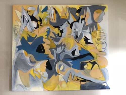 Paintings by Kandra Scheffler seen at Private Residence, Seattle - Wanderlust