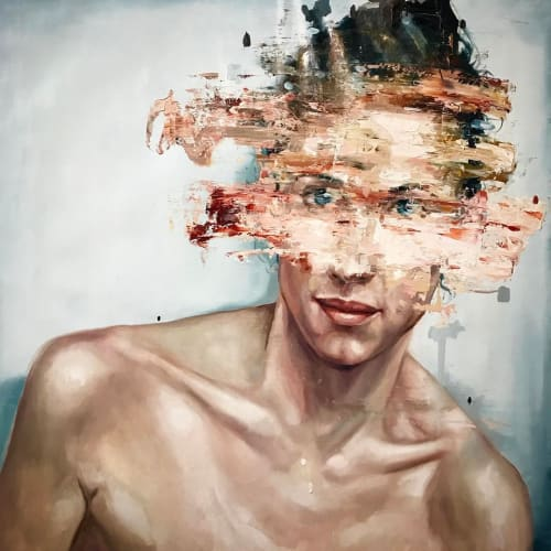 Paintings by Cesar Biojo seen at Barcelona, Barcelona - Oil Painting