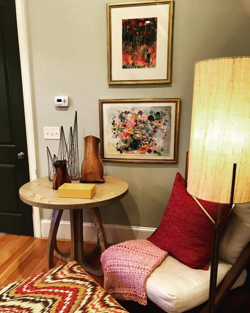 Paintings by Wendy McWilliams seen at Private Residence, Charlotte - Paper Pieces
