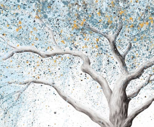 Paintings by Ashvin Harrison seen at Private Residence, North Lakes - Cool Breeze Tree