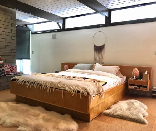 Beds & Accessories by Brawley Made seen at Private Residence | Los Angeles, CA, Los Angeles - Laurel Canyon Bed