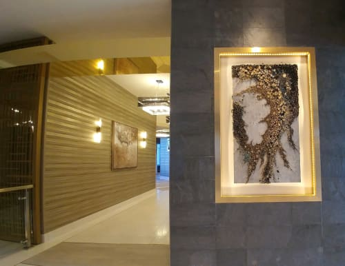Wall Hangings by Amy Genser Studio at Viejas Casino & Resort, Alpine - The Not So Itsy Bitsy Spider