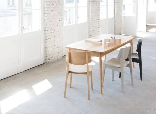 Tables by bartmann berlin seen at Private Residence - Berlin, Germany, Berlin - USUS Table