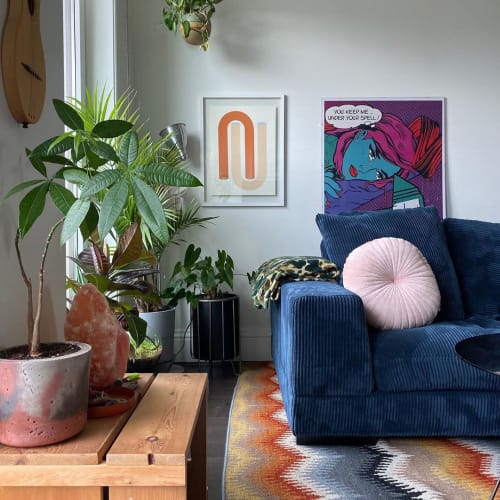 Paintings by Annie Axtell seen at Private Residence, Vancouver - Large conduit