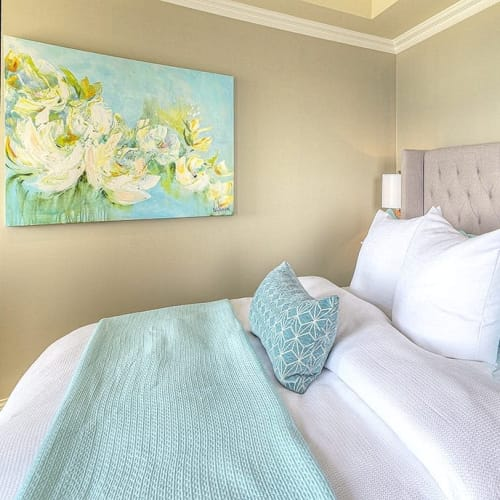 """Paintings by Nikol Wikman seen at Oak Bay Beach Hotel, Victoria - """"Lovely Day"""" Painting"""