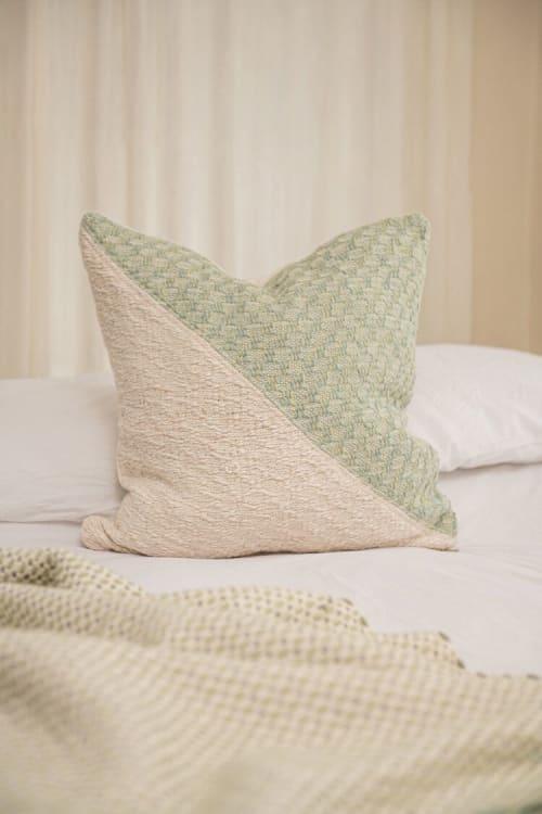 Pillows by Zuahaza by Tatiana seen at Creator's Studio, Bogotá - Tyba Diagonal Basic Pillows