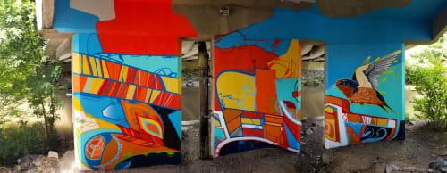 Underpass Mural in Medford | Murals by John Osgood