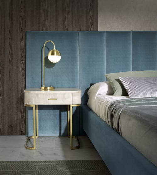 Tables by Amboan seen at Private Residence, Valencia - Retro - Bedside Table