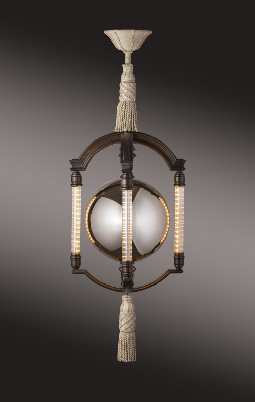 Delhi Mercury Ball Chandelier   Chandeliers by Lutyens Furniture & Lighting