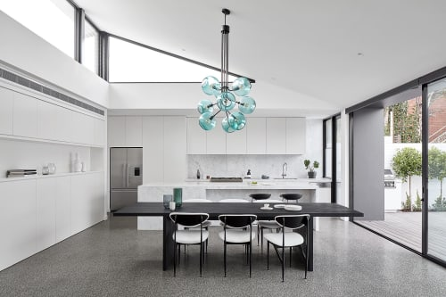 Pendants by ILANEL DESIGN STUDIO seen at Private Residence, Windsor - Tree of Light
