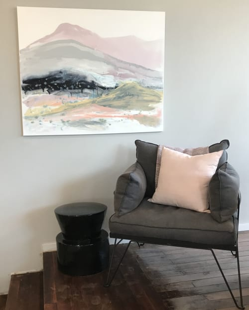 Paintings by Kathleen Rhee seen at Private Residence, Canberra - Soft Landscape