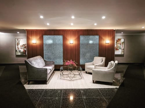 Interior Design by Art Solutions seen at 309 E 87th St, New York - Paintings for Residential Lobby