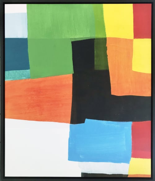 Paintings by Ellen Richman at Private Residence, Minneapolis - Acrylic Painting On Paper # 19