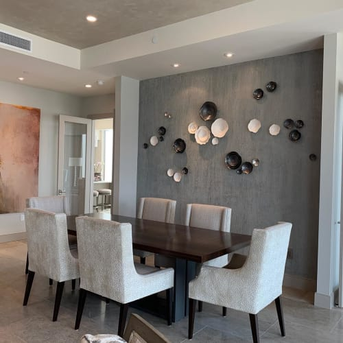 Art & Wall Decor by Lucrecia Waggoner at Private Residence, Houston - Intertwined