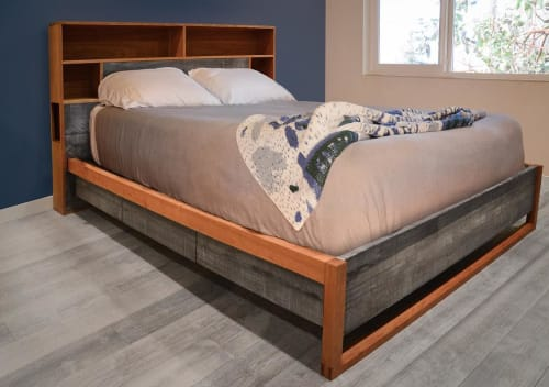 Beds & Accessories by This is Urban Made seen at Private Residence, Seattle - Greenwood Storage Bed