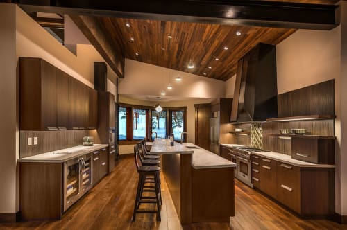 Interior Design by Aspen Leaf Interiors by Marcio Decker seen at Private Residence, Truckee, Truckee - Martis Ski Getaway