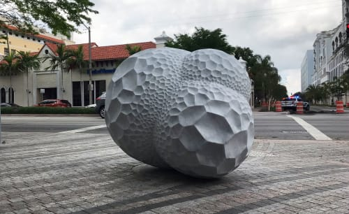 Public Sculptures by Atelier Sibylle Pasche seen at Secrets of the Sea (Sibylle Pasche), Coral Gables - Secrets of the Sea (2018)